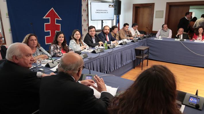 """DC reafirma que su """"domicilio político es la oposición"""" y posterga definición de alianzas para las municipales"""
