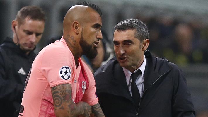 """Vidal habla del """"duro"""" momento que vivió en su llegada al Barcelona y de cómo sus compañeros lo ayudaron a adaptarse"""