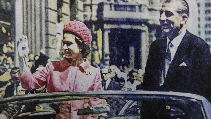 A 50 años de la visita de la reina Isabel II a Chile: Revisa las mejores imágenes que dejó su paso por el país