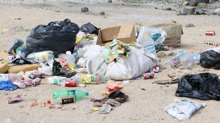 Congreso aprueba ley que castiga a quienes ensucien playas y parques: multa podría llegar a los $192  mil