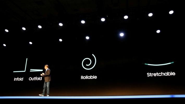 ¿Las pantallas rígidas serán cosa del pasado? Samsung aventura tres tipos de pantallas flexibles