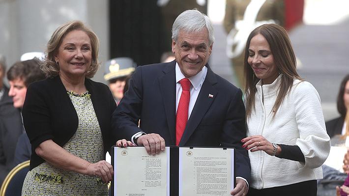 """Piñera lanza campaña sobre la violencia contra la mujer: """"Si la dejamos pasar nos estamos transformando en cómplices"""""""