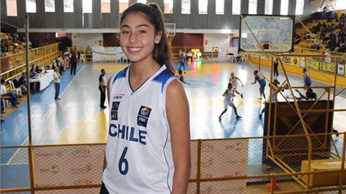 Hasta tiene ofertas de EE.UU: La basquetbolista chilena Sub 15 que ya ha sido dos veces mejor jugadora de Sudamérica