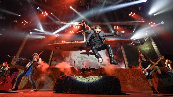 """Iron Maiden vuelve a Chile para presentar la gira """"Legacy of the Beast"""""""