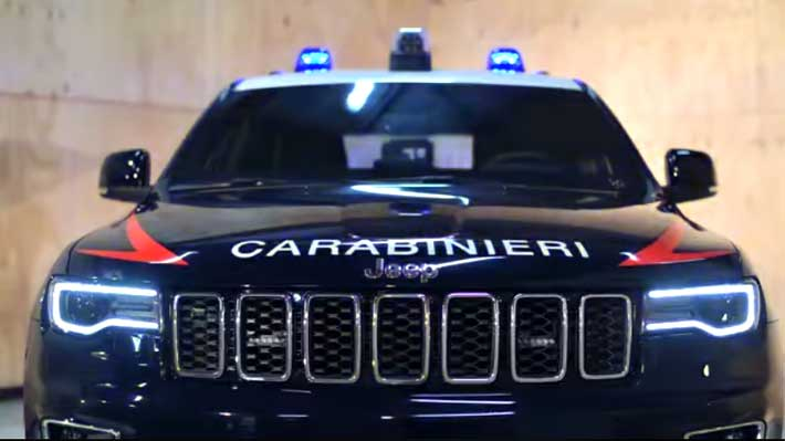Este es el nuevo vehículo que combatirá el terrorismo junto a los Carabinieri