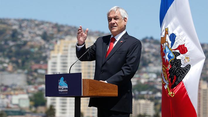 """Piñera: """"La guerra comercial entre EE.UU. y China nos está afectando en forma muy intensa"""""""