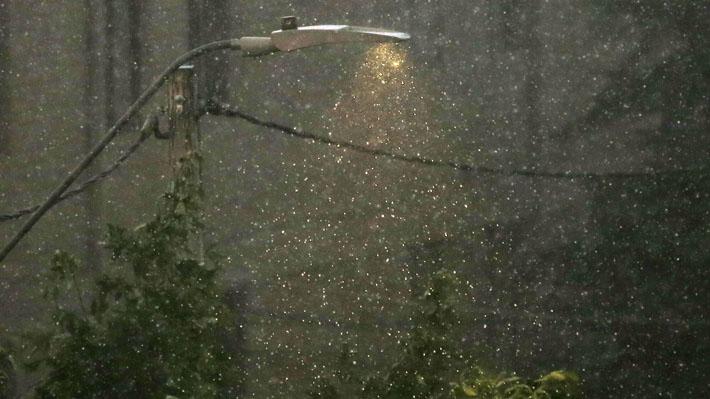 Lluvias y granizos en Santiago: Meteorología anuncia posibles tormentas eléctricas entre Valparaíso y Los Lagos