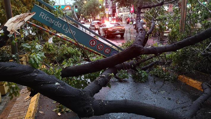 Meteorología: Lluvia que causó trastornos en Santiago se debió a transición a fenómeno de El Niño