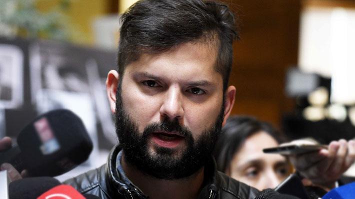 """El otro gesto de Boric al FPMR: Diputado """"presentó respetos"""" por Hernández Norambuena en enero de 2017"""