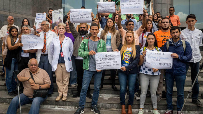 """Opositores vuelven a pedir a Bachelet que constate la """"grave"""" crisis que existe en Venezuela"""
