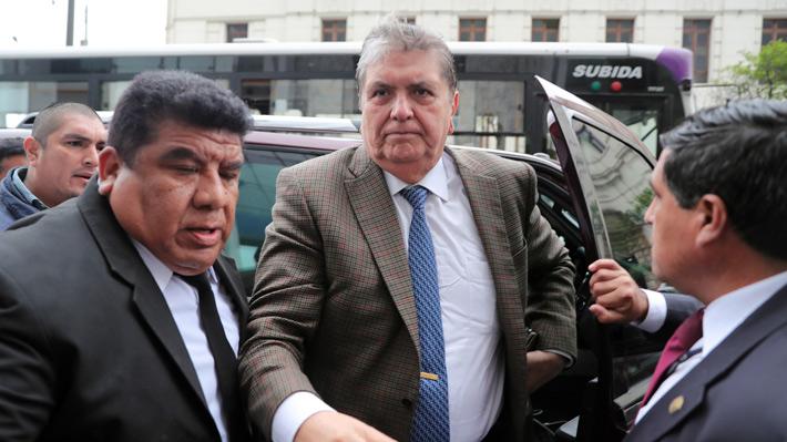 Alan García se declara víctima de persecución política por el caso Odebrecht
