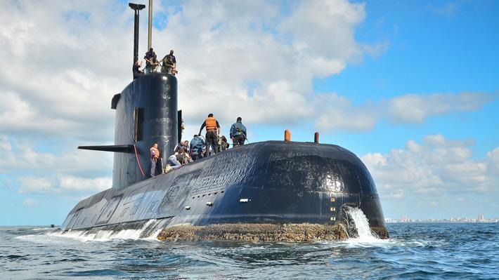 Buque de empresa Ocean Infinity halla submarino Ara San Juan desaparecido hace un año