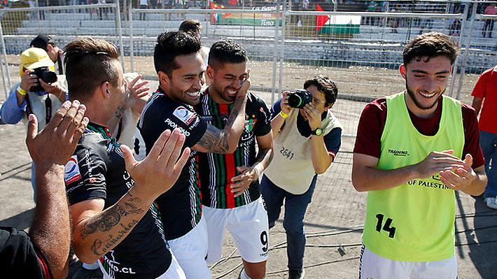 Se acaba una espera de 40 años sin títulos: Palestino conquista la Copa Chile y clasifica a la Libertadores 2019