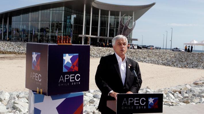 """Piñera y su paso por APEC: """"Nuestra posición de defender el libre comercio ha sido firme"""""""