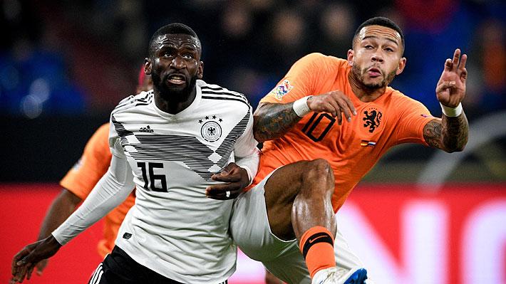 Holanda rescata un agónico empate ante Alemania y avanza a la fase final en la Liga de Naciones de Europa