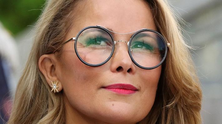 Cathy Barriga agradece a Jacqueline Van Rysselberghe por mencionarla como presidenciable