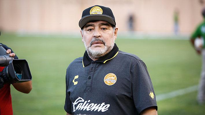 """Otro show de Maradona: Respondió con evidentes problemas para vocalizar y pidió a sus críticos que """"no digan estupideces"""""""
