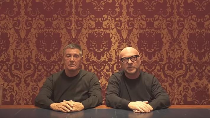 """""""Lo sentimos muchísimo"""": Stefano Gabbana y Domenico Dolce piden disculpas a chinos tras polémica por racismo"""