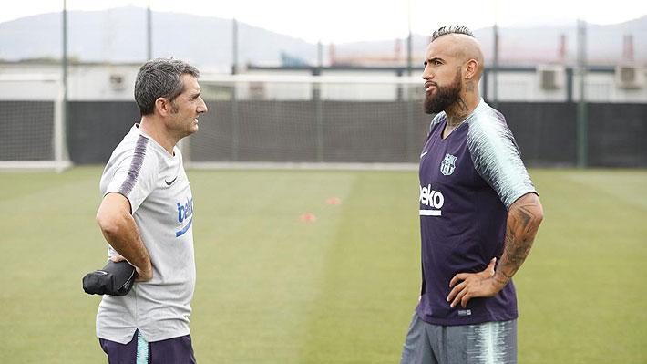 Valverde destaca el compromiso de Vidal 4b34ce6acd7