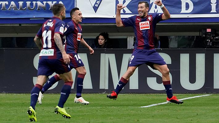 Anuló a Marcelo y pudo anotar un golazo: Fabián Orellana fue figura en histórico triunfo de Eibar sobre el Madrid