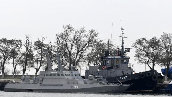 Ucrania pone en alerta a su Ejército tras la escalada naval con Rusia