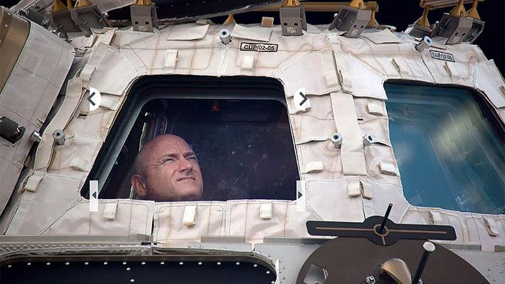 Scott Kelly, el astronauta estrella de la NASA, muestra una selección de fotografías tomadas durante su año en el espacio