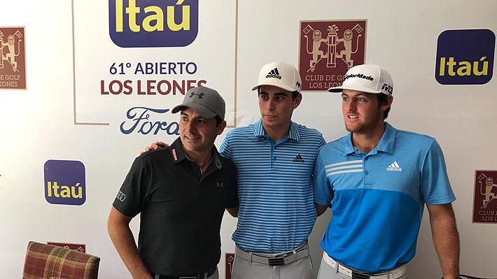 """Niemann confiesa que cumplirá un sueño y que será """"especial"""" jugar en Chile ya como golfista profesional"""