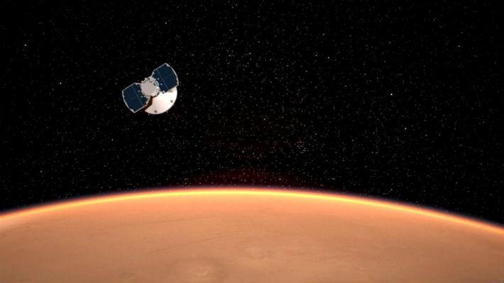 InSight logra llegar con éxito en la superficie de Marte y envía su primera fotografía