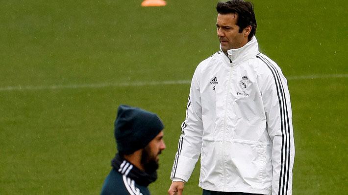 """Solari enfrenta su primer problema en el camarín del Real Madrid por """"cortar"""" a un indiscutido de Lopetegui"""