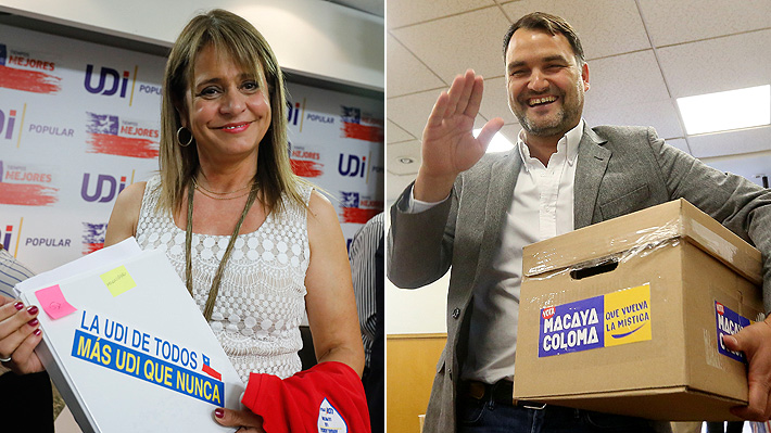 Van Rysselberghe y Macaya entran en recta final de elección UDI en medio de tensión por suspensión de militantes