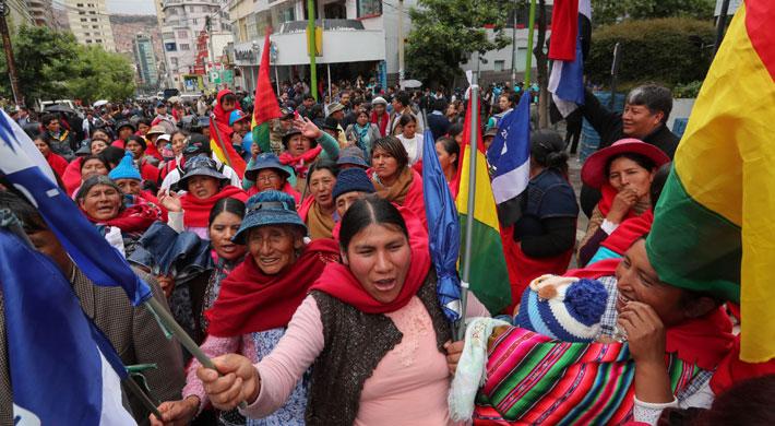 Partidos bolivianos inscribieron sus candidatos a la presidencia entre multitudes y divisiones
