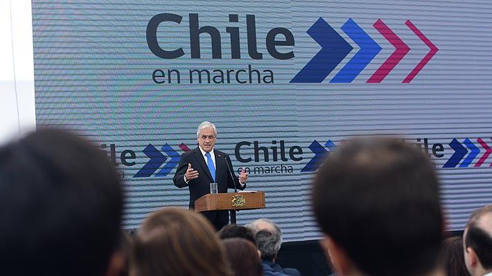 Piñera hace férrea defensa a la gestión económica del Gobierno y adelanta que vienen positivas cifras sobre empleo
