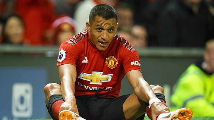 Alexis Sánchez no sale de su mal momento y ahora desde el United confirmaron que se lesionó durante el entrenamiento