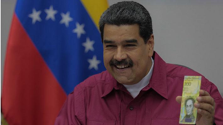 """Maduro aumenta 150% el sueldo mínimo y afirma que hiperinflación venezolana entró en proceso de """"desaceleración"""""""