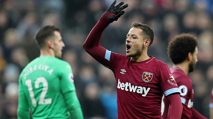 """Comandado por """"Chicharito"""", el West Ham de Manuel Pellegrini golea al Newcastle y vuelve al triunfo en la Premier"""