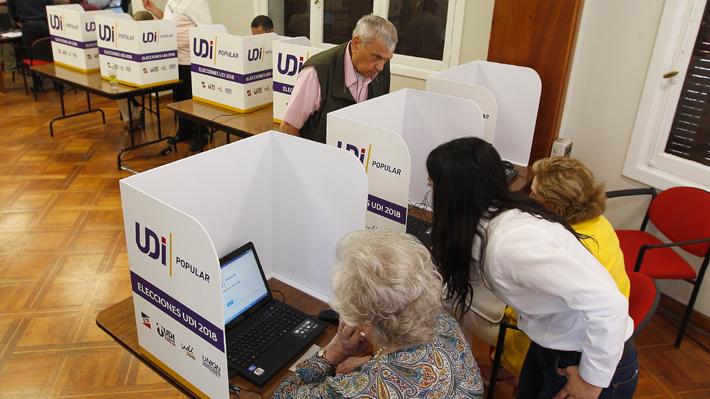 """Empresa a cargo de la fallida elección en la UDI sospecha que un """"robot automático"""" provocó el error"""