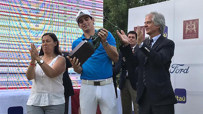 Niemann gana su primer título como profesional y rompe el récord histórico de la cancha de Los Leones