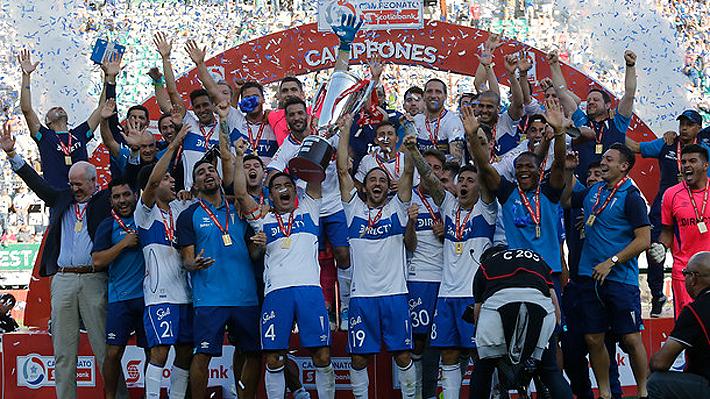 Católica no da pie a las sorpresas y se corona campeón del fútbol chileno por 13.a vez en su historia