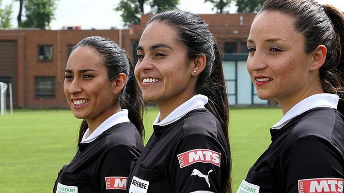 Una árbitra chilena destaca entre las 27 juezas que estarán en el Mundial femenino de Francia