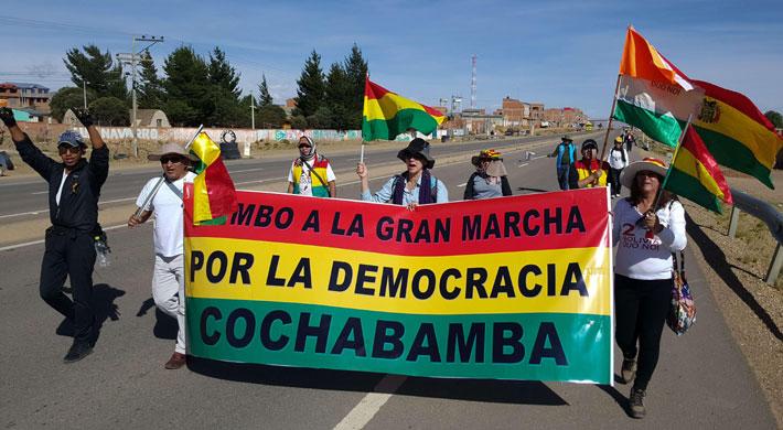 Bolivia: Aumentan las protestas contra la candidatura de Evo Morales a días de la decisión del TSE