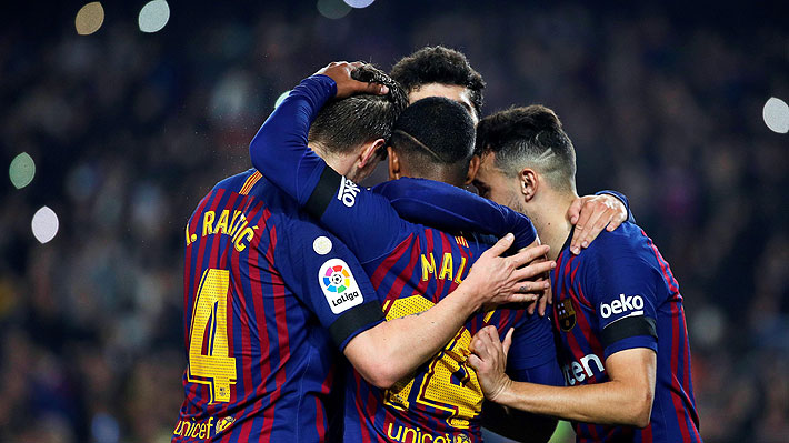 Con Vidal ausente por un cuadro febril, Barcelona golea a Cultural Leonesa y avanza a octavos de la Copa del rey