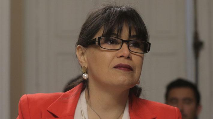 Javiera Blanco llega hasta la fiscalía para declarar como imputada en caso Ascar