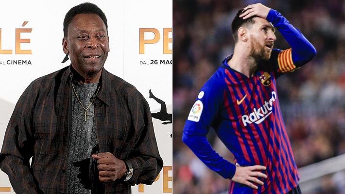 """Pelé destroza a Messi: """"Le pega sólo con una pierna, tiene un regate y no cabecea bien"""""""