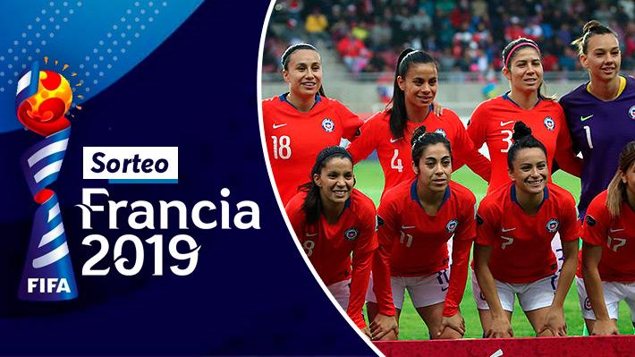 Revisa cómo fue el sorteo del Mundial Femenino de Francia 2019
