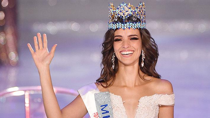 """Modelo mexicana logra la primera corona de Miss Mundo para su país: Candidata chilena quedó entre las """"top 5"""""""