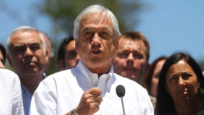 """Piñera dice que 2019 estará enfocado en implementar """"grandes modernizaciones y reformas"""" y llama a la unidad a la oposición"""