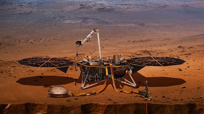 Así suena el viento en Marte: Nave de la NASA logra registrar inédito audio del Planeta Rojo
