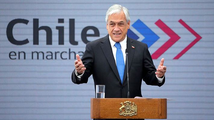 """Piñera dice que Pacto de la ONU """"contradice algunos de los principios y objetivos"""" de su política de migración"""