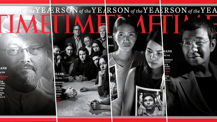 """""""Guardianes de la verdad"""": Revista Time elige a Khashoggi y otros periodistas como """"Personas del Año"""" 2018"""