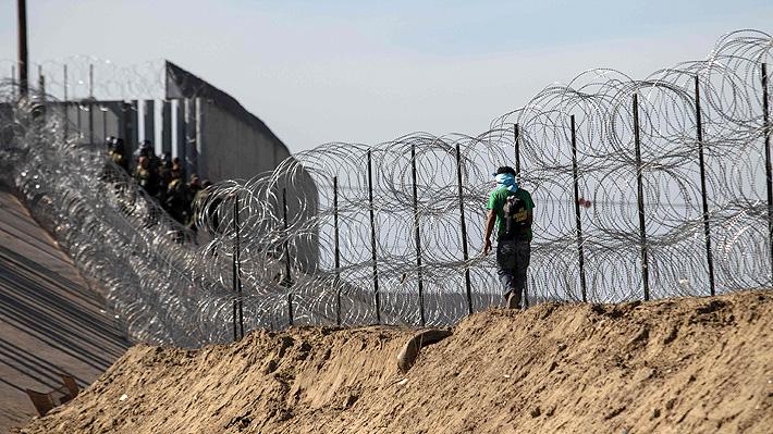 Trump advierte que las Fuerzas Armadas podrían construir el muro en la frontera con México